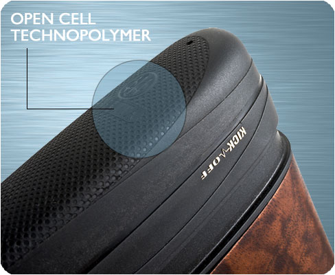 Open cell technopolymer